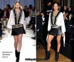 Givenchy Spring 2010 Couture Front Row & After Party - Ciara In Givenchy
