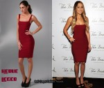 In Lauren Conrad's Closet - Herve Leger Lady In Red Bandage Dress