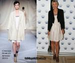 Runway To Crown's Tennis Players' Party - Maria Sharapova In Cynthia Rowley
