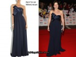 In Davina McCall's Closet - Notte by Marchesa Strapless silk-chiffon gown