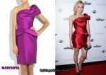 In Diane Kruger's Closet - Marchesa Asymmetrical Dress