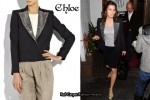 In Jessica Biel's Closet - Chloe Crystal-Lapel Jacket