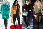 Celebrities Love...(Faux) Fur Coats