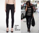 In Kim Kardashian's Closet - Seven For All Mankind Moto Gummy Jeans