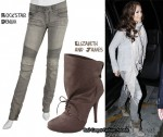 In Jennifer Lopez's Closet - Rockstar Denim Jeans And Elizabeth & James Boots