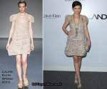 "Runway To  ""Calvin Klein's LA Arts Month And ALAC"" Event - Ginnifer Goodwin in Calvin Klein"