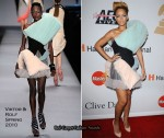 "Runway To Grammy Awards ""Salute To Icons Honoring Doug Morris"" Clive Davis Event - Rihanna In Viktor & Rolf"
