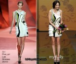 Runway To 2010 Asia Model Festival Awards - Han Chae-Young In 3.1 Phillip Lim