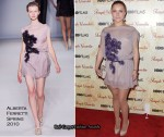 "Runway To ""Temple Grandin"" New York Premiere - Hayden Panettiere In Alberta Ferretti"