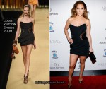"Runway To Scott Barnes' ""About Face"" Book Launch Party - Jennifer Lopez In Louis Vuitton"