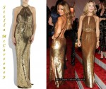 In Kate Hudson's Closet - Stella McCartney Gold Sequin Dress