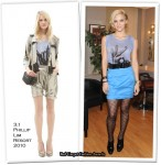 Runway To The Pix Morning Show - Katharine McPhee In 3.1 Phillip Lim