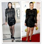 "Runway To ""Pre-New Year's Eve Party"" - Kim Kardashian In Balenciaga"