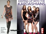 "Runway To ""Keeping Up With The Kardashian's"" Promo - Kim Kardashian In Peter Pilotto"