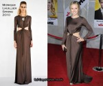 "Runway To ""When In Rome"" LA Premiere - Kristen Bell In Monique Lhuillier"