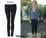 In Lauren Conrad's Closet - Capital E Levi's Denim Leggings