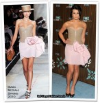 Runway To Fox All Star Party - Lea Michelle In Isaac Mizrahi