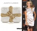 In Katie Cassidy's Closet - Judith Leiber Package Clutch