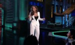 "Runway To ""Lopez Tonight"" - Jennifer Lopez In Hussein Chalayan"