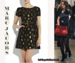 In Leighton Meester's Closet - Marc by Marc Jacobs Jacquard Dress