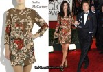 In Nancy Shevell's Closet - Stella McCartney Sequin-Embellished Crepe-Silk Dress