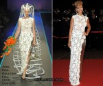 2010 NRJ Music Awards - Rihanna In Jean Paul Gaultier Couture