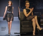 "Runway To ""Jimmy Kimmel Live"" - Rachel McAdams In Doo.Ri"