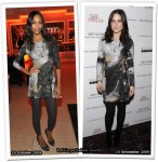 Who Wore Helmut Lang Better? Zoe Saldana Or Sophia Bush