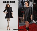 In Keri Russell's Closet - Alexander McQueen Wool/Silk Coat