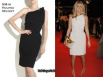 In Tess Daly's Closet - RM by Roland Mouret Maestro Wool Crepe Dress