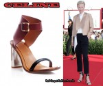 In Tilda Swinton's Closet - Celine Strappy Sandals