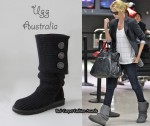 In Charlize Theron's Closet - Ugg Australia Classic Cardy Boots