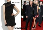 In Anastacia Makarenko's Closet - Valentino Ruched-Chiffon Mini Dress