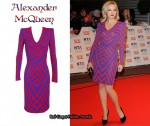 In Zoe Lister's Closet - Alexander McQueen Two Tone Zig Zag Dress