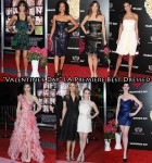 "Who Was Your Best Dressed At The ""Valentine's Day"" LA Premiere?"