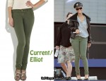 In Rihanna's Closet - Current/Elliot The Legging Jeans