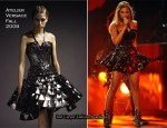 Runway To 2010 Grammy Awards - Beyonce Knowles In Atelier Versace