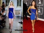 Runway To 2010 Grammy Awards - Fergie In Emilio Pucci