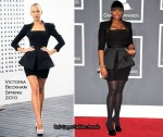 Runway To 2010 Grammy Awards - Jennifer Hudson In Victoria Beckham