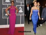 2010 Grammy Awards - Mary J Blige In Gucci & Roberto Cavalli