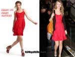 In Taylor Swift's Closet - Marc by Marc Jacobs Red Dress