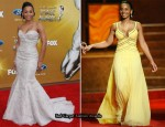41st NAACP Image Awards - Anika Noni Rose In Ysa Makino, BCBG Max Azria & Naeem Khan