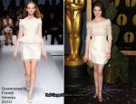 Runway To 82nd Academy Awards Nominee Luncheon - Anna Kendrick In Gianfranco Ferré
