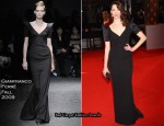 Runway To 2010 BAFTAs - Rebecca Hall In Gianfranco Ferré