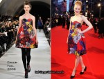 Runway To 2010 BAFTAs - Romola Garai In Erdem
