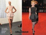 Runway To 2010 BAFTAs - Trudie Styler In Victoria Beckham Collection