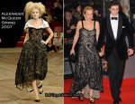 Runway To 2010 BAFTAs - Sam Taylor-Wood In Alexander McQueen