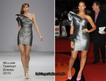 Runway To 2010 Brit Awards - Leona Lewis In William Tempest