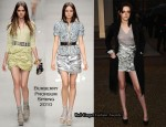 Runway To Burberry Prorsum Fall 2010 Presentation - Kristen Stewart In Burberry Prorsum