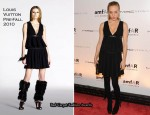 Runway To amfAR New York Gala To Kick Off Fall 2010 Fashion Week – Chloe Sevigny In Louis Vuitton